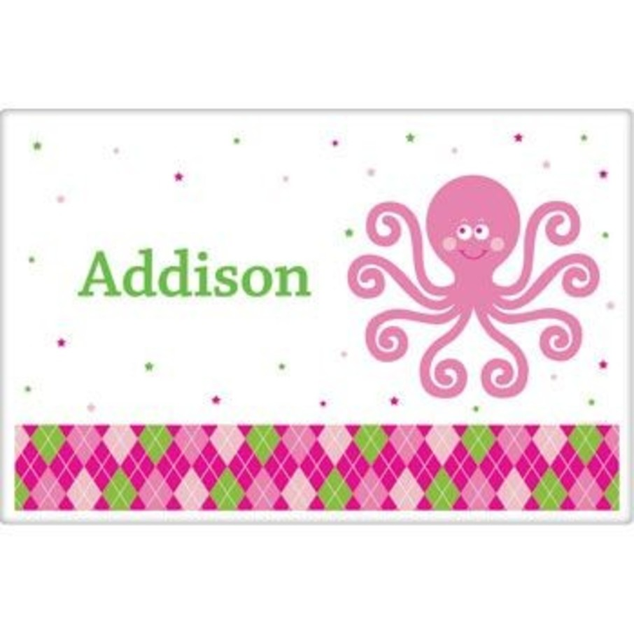 View larger image of Preppy Pink Party Personalized Placemat (each)