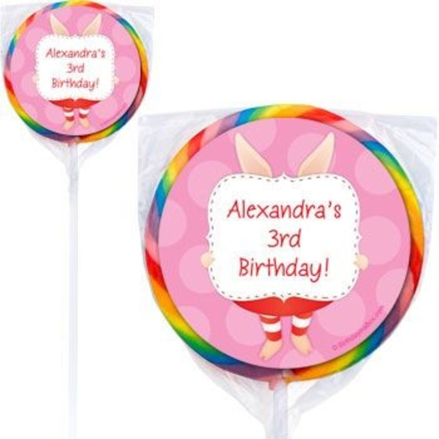 View larger image of Pretty Pig Personalized Lollipops (pack of 12)