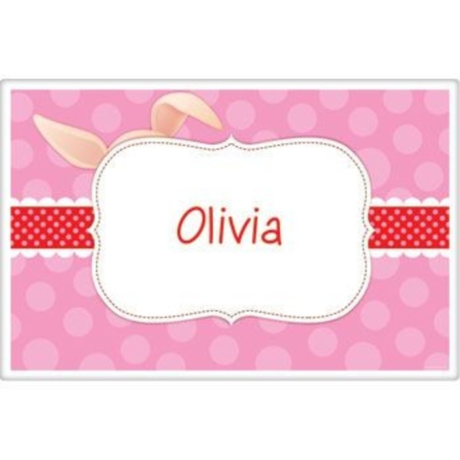 View larger image of Pretty Pig Personalized Placemat (each)