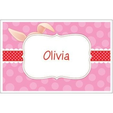 Pretty Pig Personalized Placemat (each)