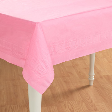 Pretty Pink Paper Tablecover (1)