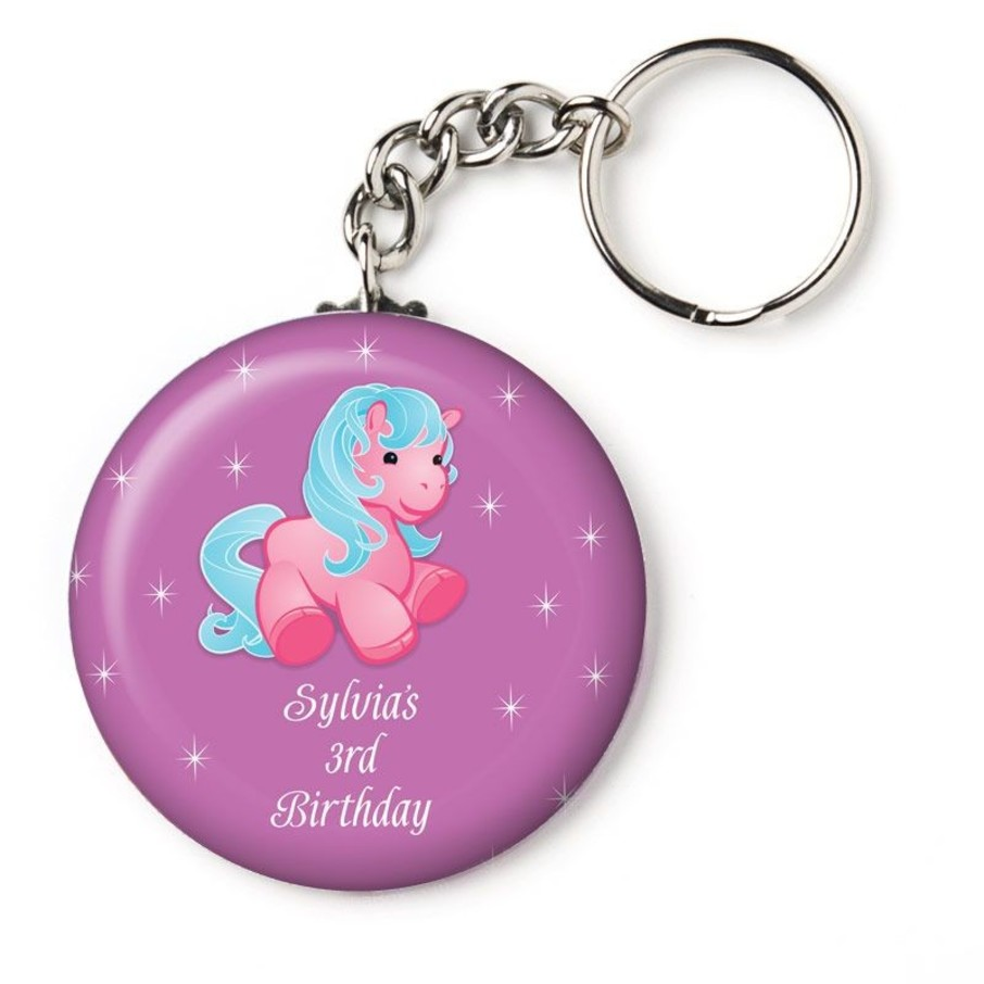 """View larger image of Pretty Pony Personalized 2.25"""" Key Chain (Each)"""