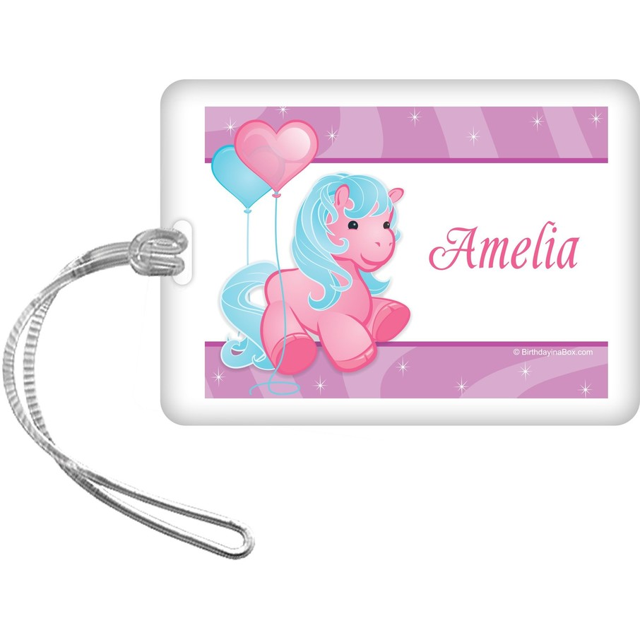 View larger image of Pretty Pony Personalized Bag Tag (each)