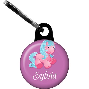 Pretty Pony Personalized Zipper Pull (each)