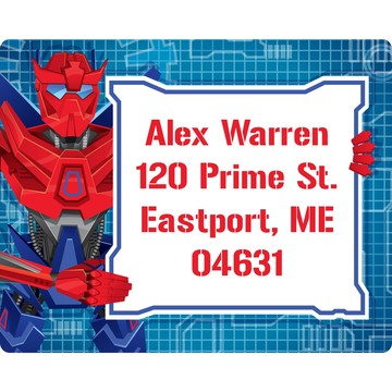 Prime Robot Personalized Address Label