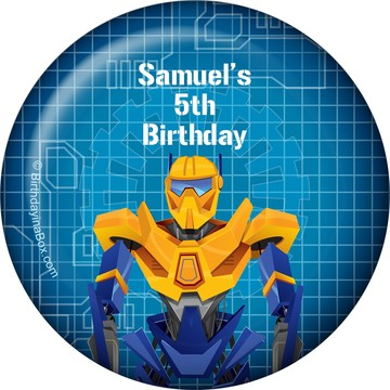 Prime Robot Personalized Magnet (each)