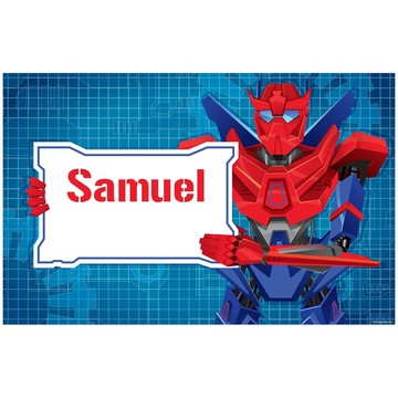 Prime Robot Personalized Placemat (each)