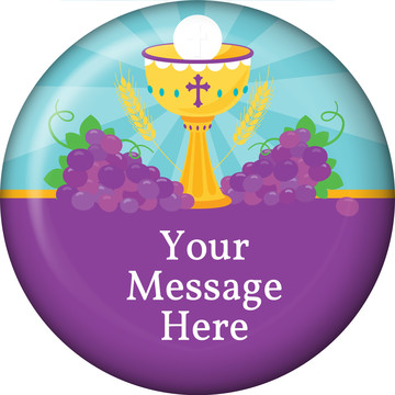 Primera Communion Personalized Magnet (Each)