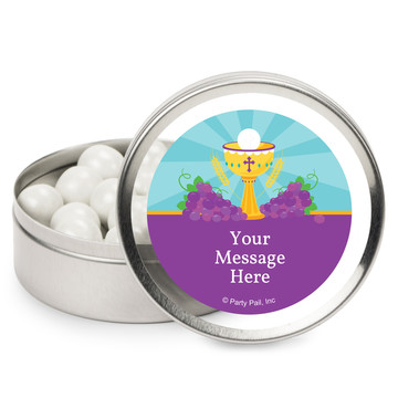 Primera Communion Personalized Mint Tins (12 Pack)