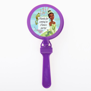 Princess And The Frog Personalized Clappers (Set Of 12)