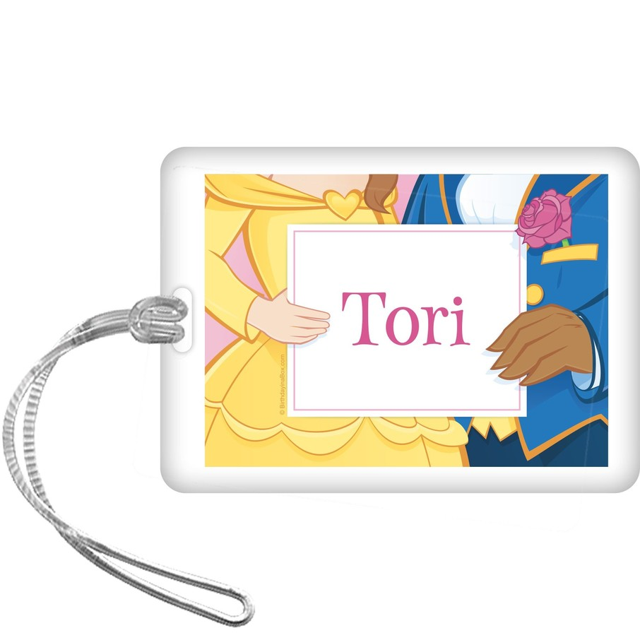 View larger image of Princess & Beast Personalized Bag Tag (each)