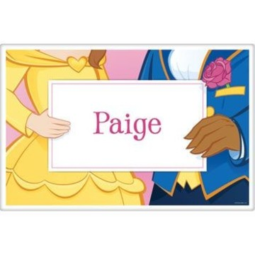 Princess & Beast Personalized Placemat (each)