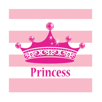 Princess Party Beverage Napkins (16)