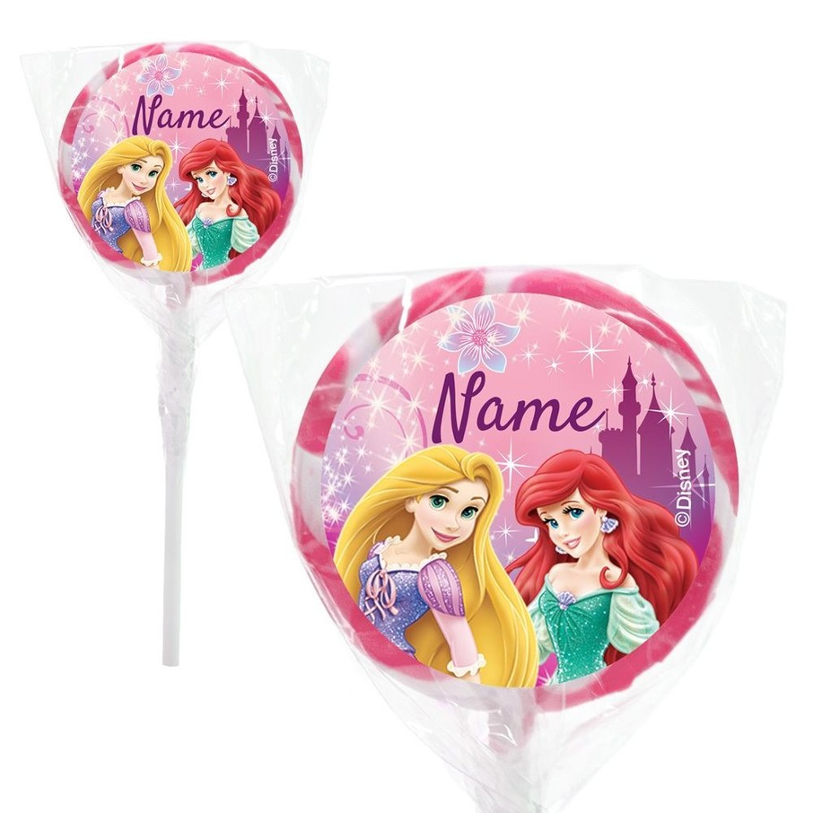 "View larger image of Princess Personalized 2"" Lollipops (20 Pack)"