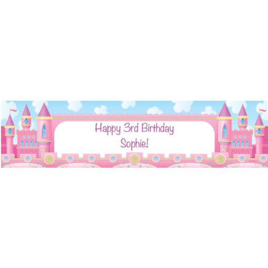 View larger image of Princess Personalized Banner (each)