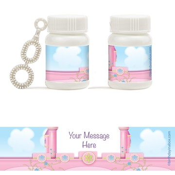 Princess Personalized Bubbles (18 Pack)