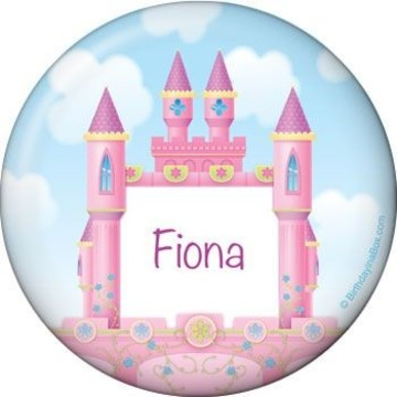 Princess Personalized Button (each)