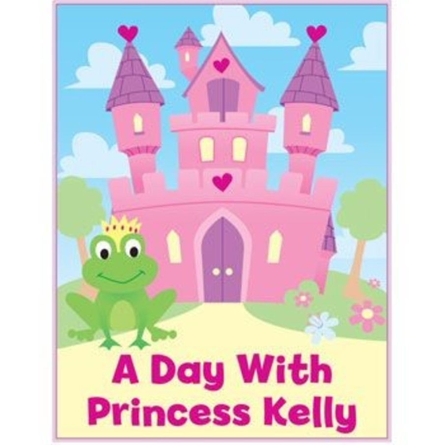 View larger image of Princess Personalized Coloring Book (each)