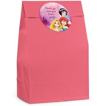 Princess Personalized Favor Bag (Set Of 12)