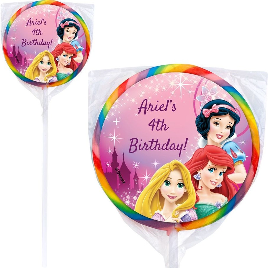 View larger image of Princess Personalized Lollipops (12 Pack)