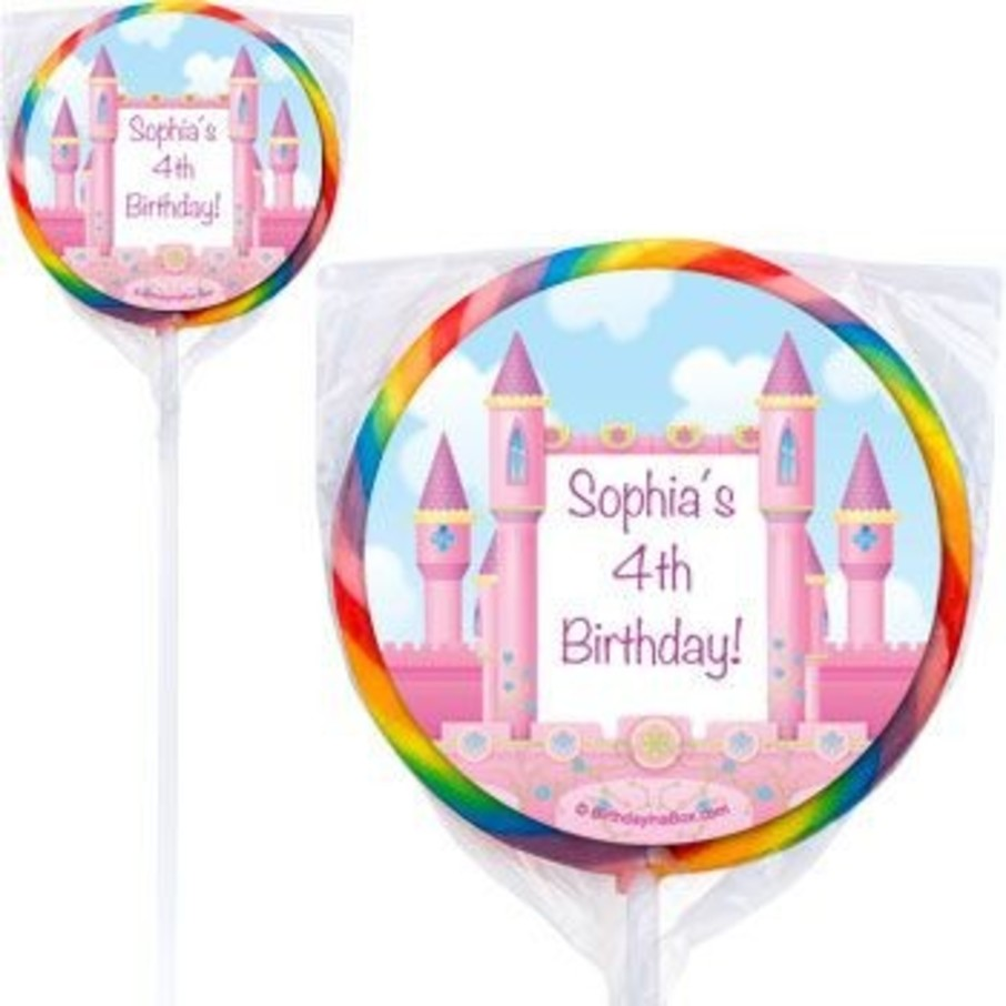 View larger image of Princess Personalized Lollipops (pack of 12)