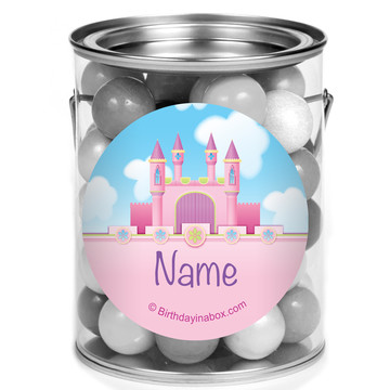 Princess Personalized Mini Paint Cans (12 Count)