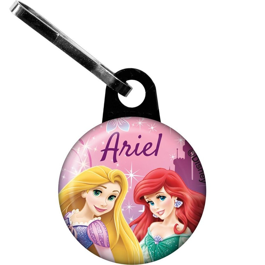 View larger image of Princess Personalized Mini Zipper Pull (Each)