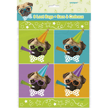 Pug Puppy Birthday Lootbag (8)