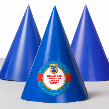 Pup Command Personalized Party Hats (8 Count)