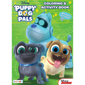 Puppy Dog Pals Activity Book with Stickers (1)