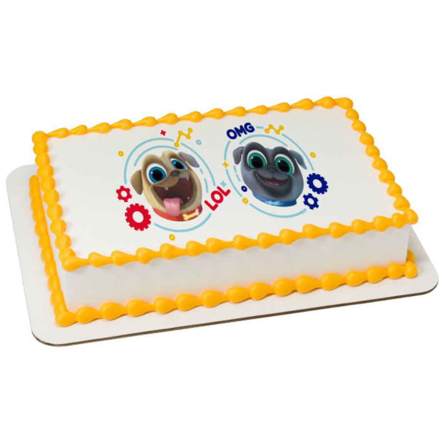 View larger image of Puppy Dog Pals Quarter Sheet Edible Cake Topper (Each)