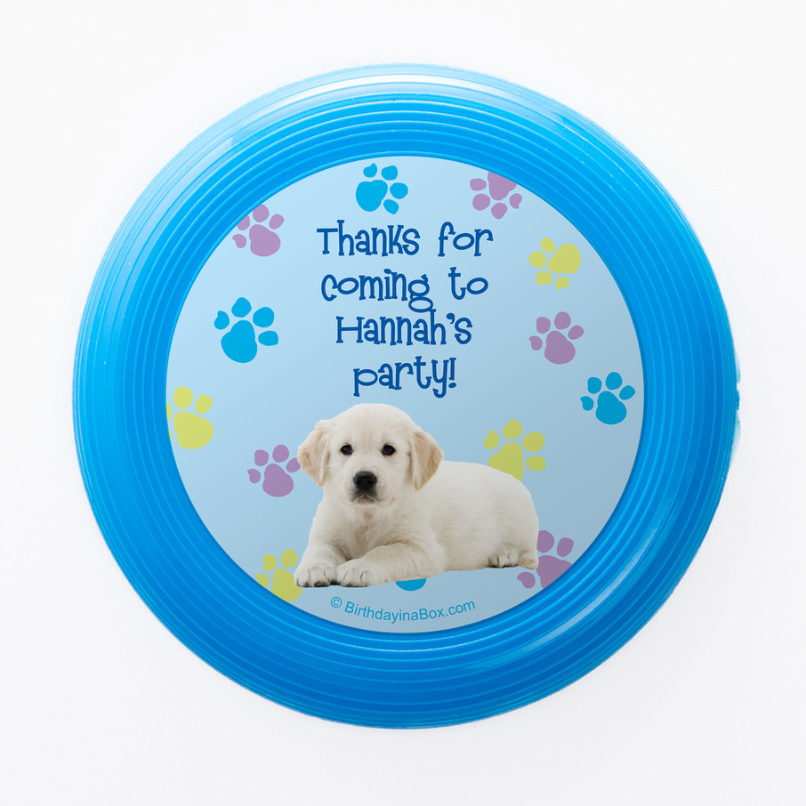 View larger image of Puppy Party Personalized Mini Discs (Set of 12)