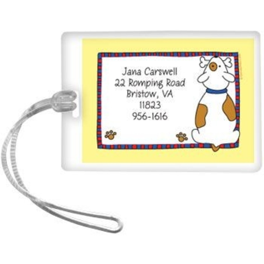 View larger image of Puppy Personalized Luggage Tag (each)