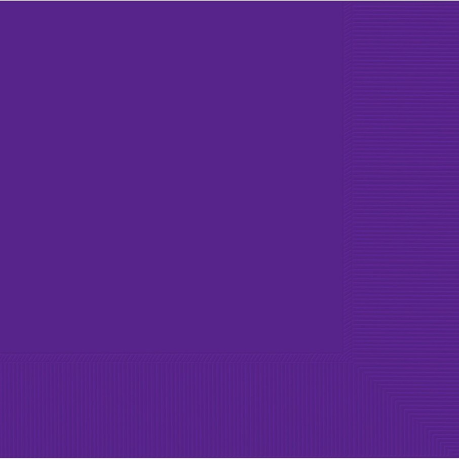 View larger image of Purple 2-Ply Luncheon Napkins, 50 ct.