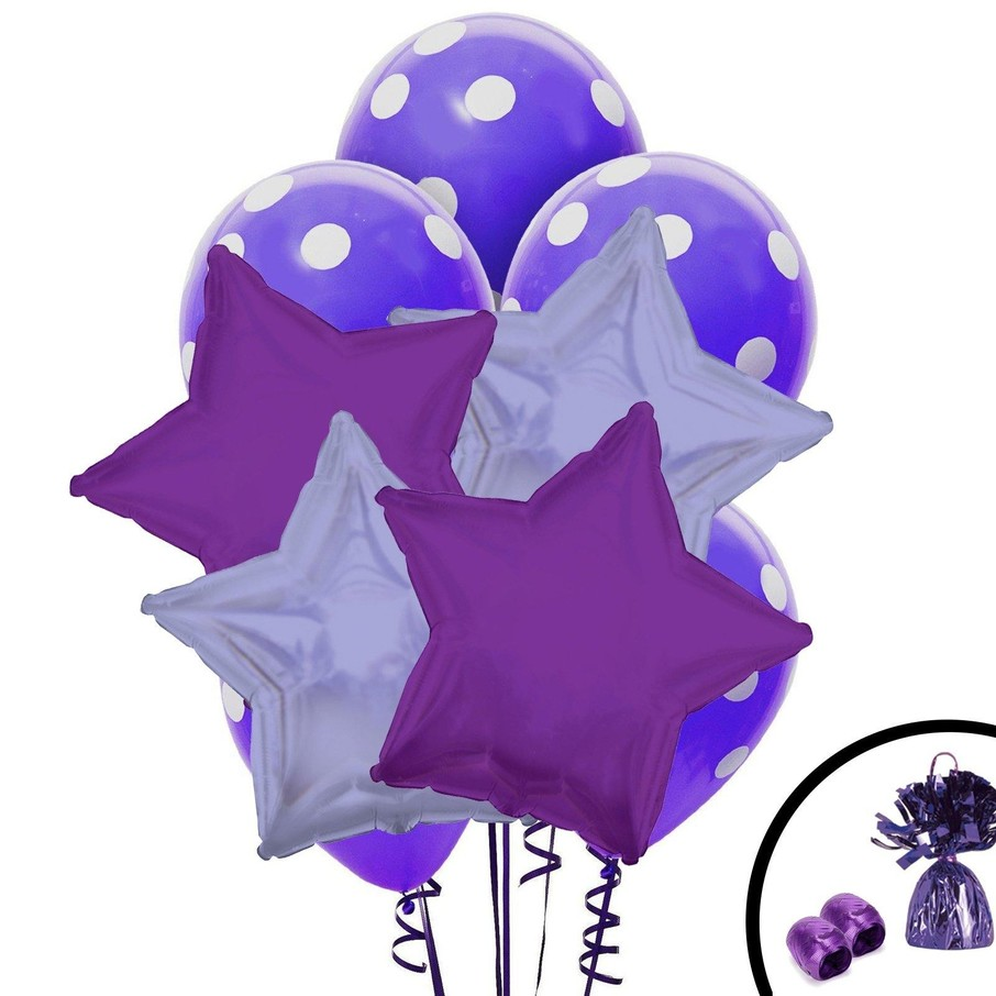 View larger image of Purple Balloon Bouquet