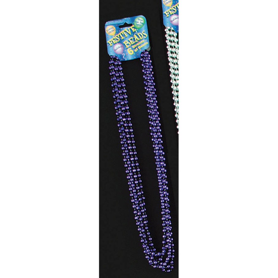 View larger image of Purple Bead Necklace