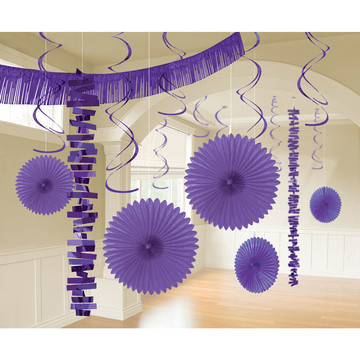 Purple Decoration Kit