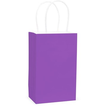 Purple Favor Bag