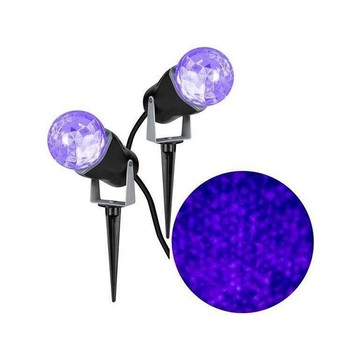 Purple Kaleidoscope Projection Light (Set of 2)