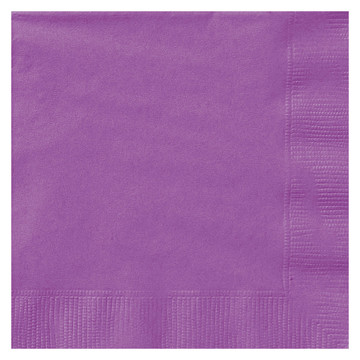 Purple Lunch Napkins (20 Count)