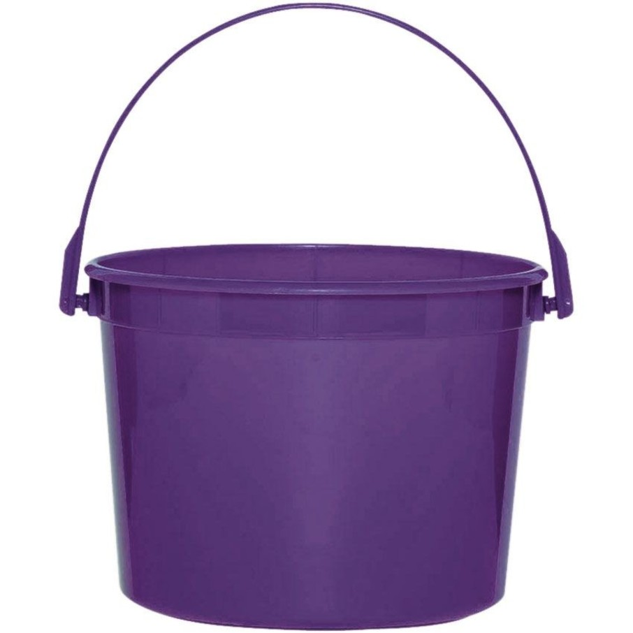 View larger image of Purple Plastic Bucket