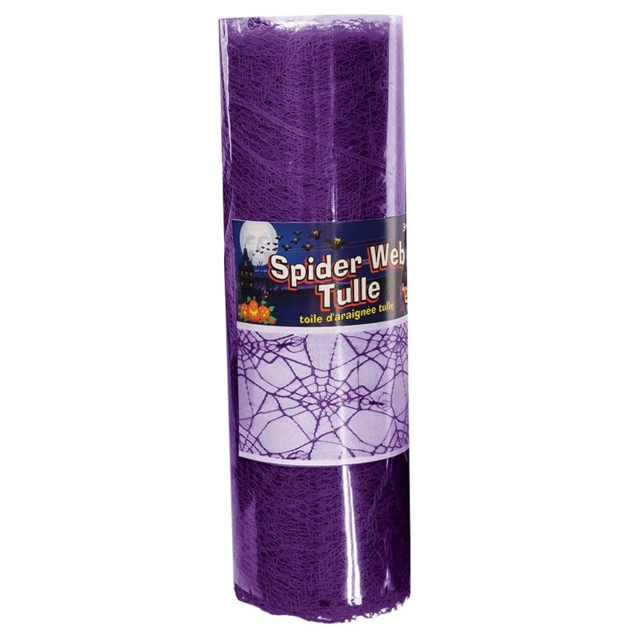 View larger image of Purple Spider Web Tulle 5Yds