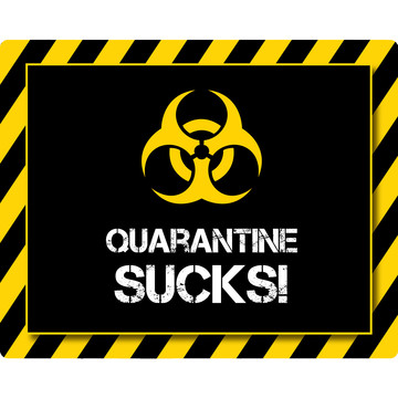 Quarantine Party Stickers (Sheet of 15)