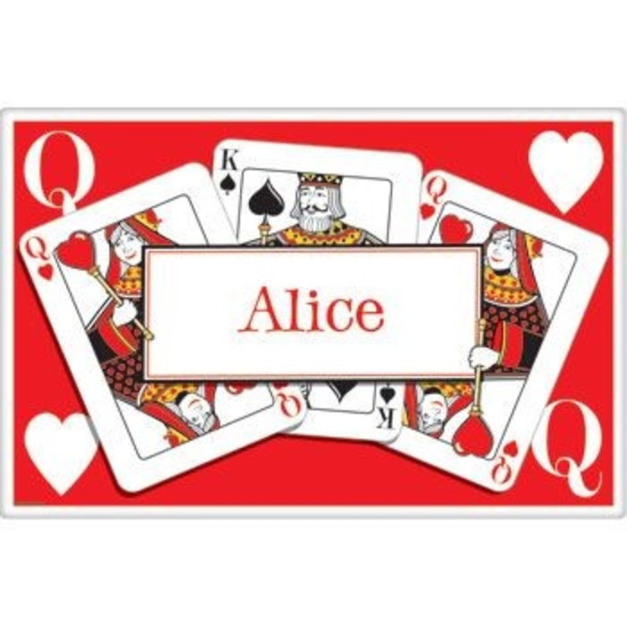 View larger image of Queen's Card Party Personalized Placemat (each)