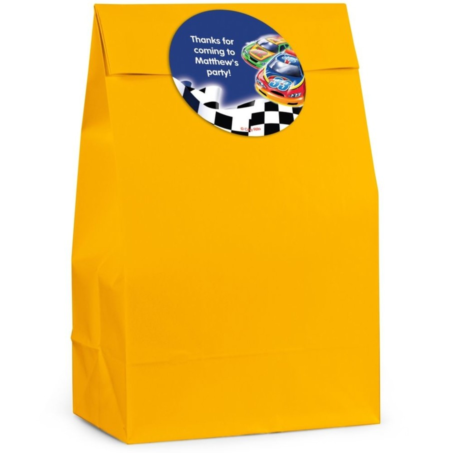 View larger image of Race Cars Personalized Favor Bag (Set Of 12)
