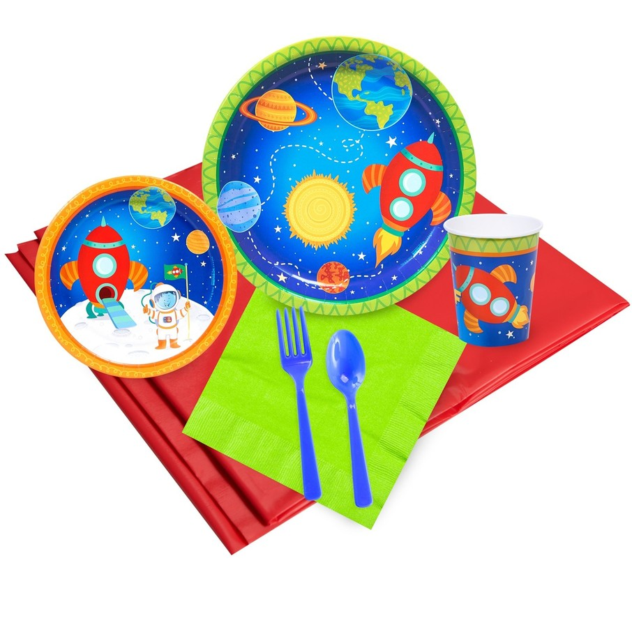 View larger image of Rocket to Space Party Pack (24)