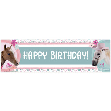 Rachael Hale Beautiful Horse Birthday Banner