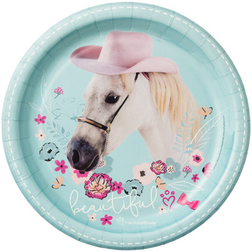 Rachael Hale Beautiful Horse Dinner Plates (8)