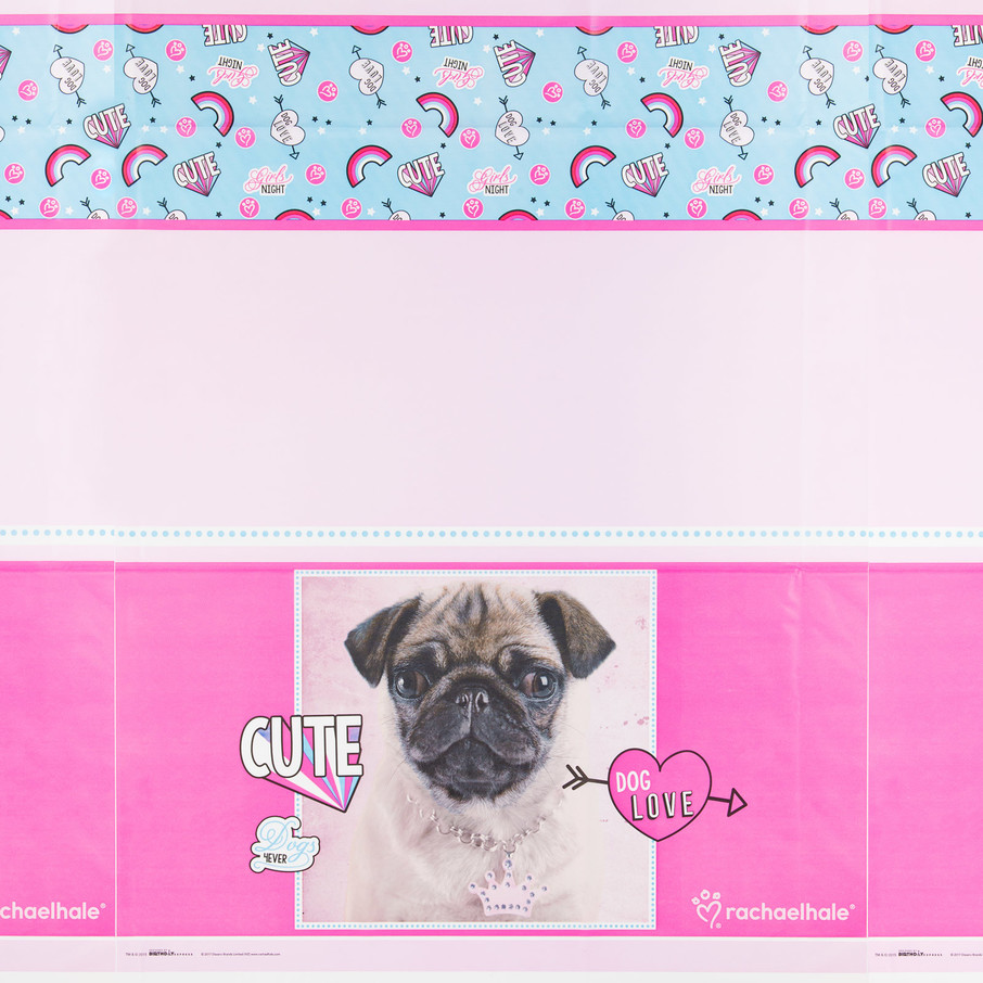 View larger image of Rachael Hale Dog Love Tablecover (1)