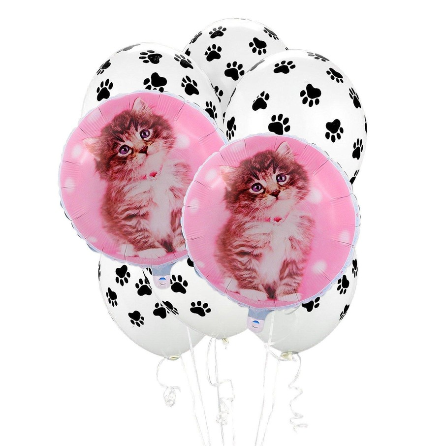 View larger image of Rachaelhale Cats 8 pc Balloon Kit